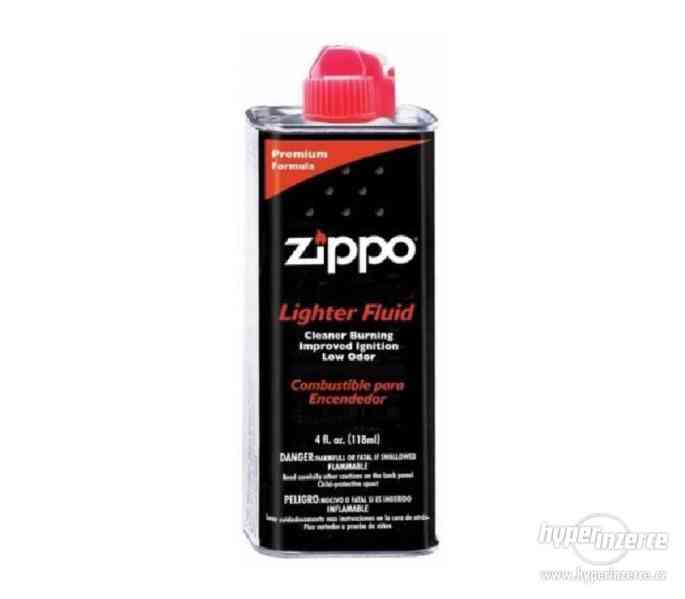 Zippo zapalovače, benzin náplně, kožená pouzdra - foto 12