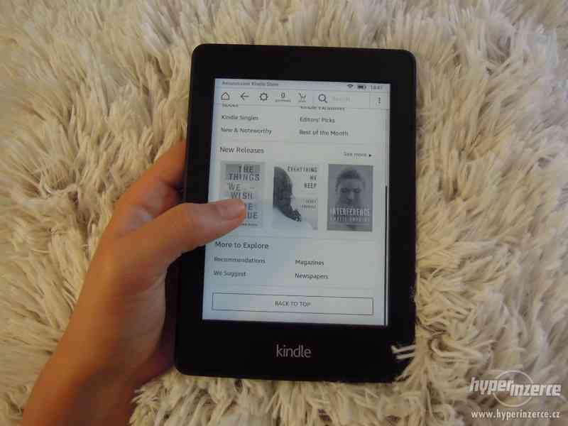 Nepoužívaná Amazon Kindle Paperwhite 2 +DÁREK - foto 3