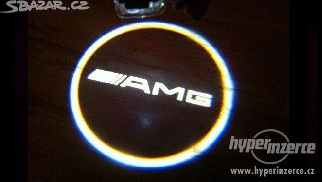 NOVE LEd osvětlení dveří AMG Mercedes