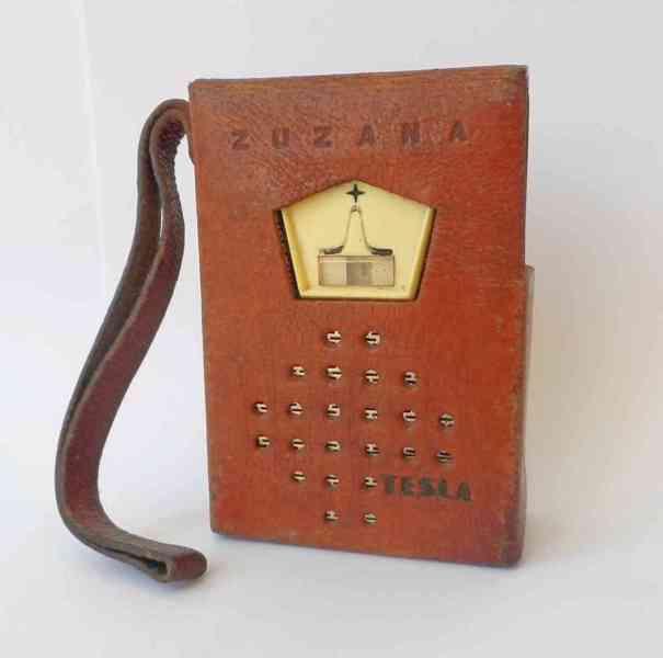 Tranzistorové rádio Tesla Zuzana, rok výroby 1964/1965