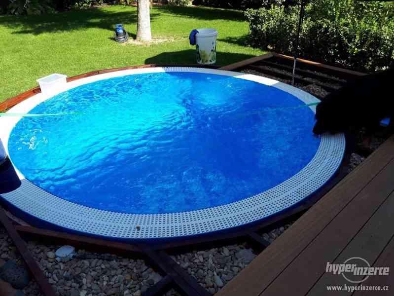 Kruhový přelivový vířivý bazén FLORIDA