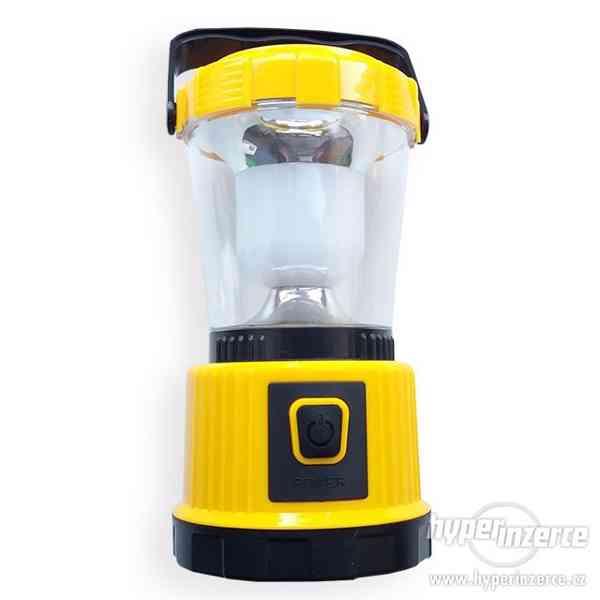 Solární nabíjecí LED svítilna - lucerna