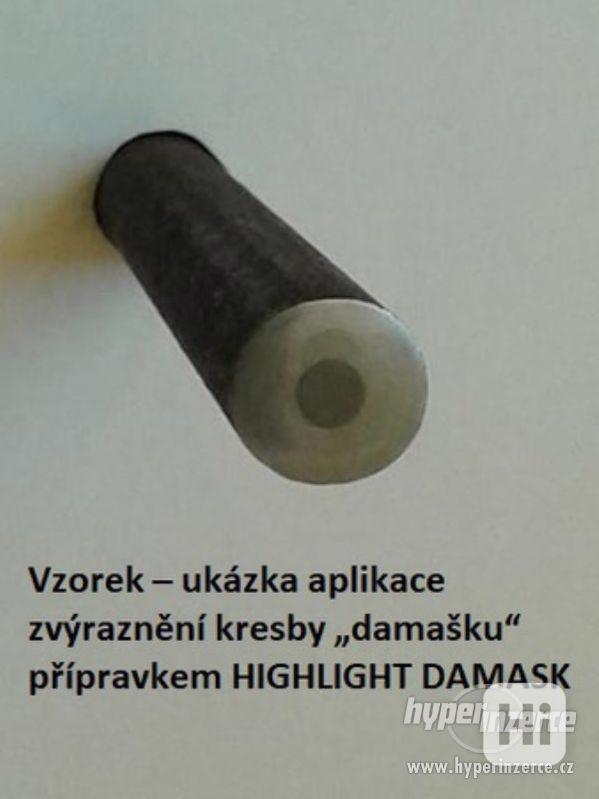 Přípravek na černění zbraní a jiné přípravky. - foto 31
