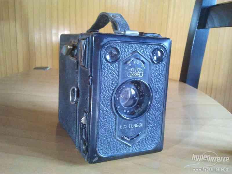Starý fotoaparát Zeiss Ikon Film - foto 6
