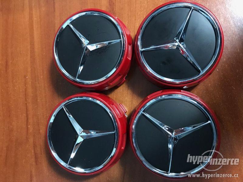 Mercedes Benz - Středové pokličky AMG