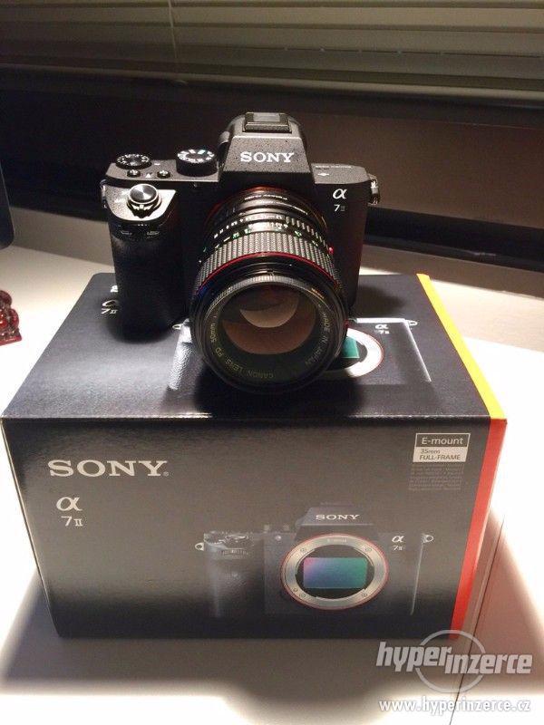 Sony Alpha A7 II Digitální fotoaparát