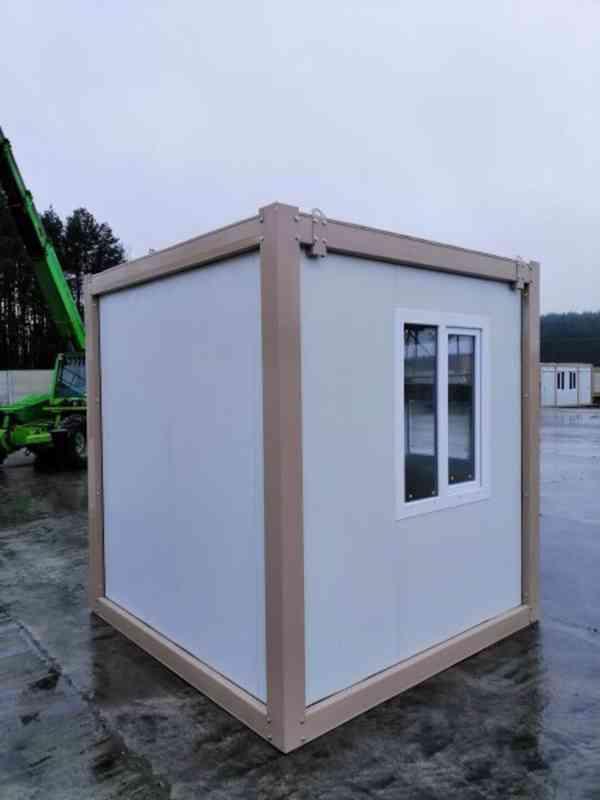 Obytný kontejner, vrátnice , kancelář 240x240 cm