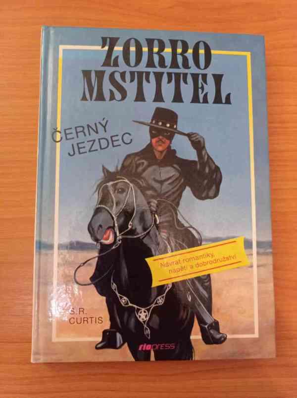 S. R. CURTIS - Zorro Mstitel (Černý jezdec)