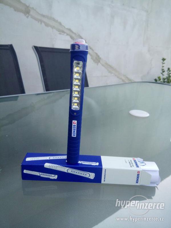 LED kapesní svítilna LED, Pen Light 7+1 Micro USB - foto 1