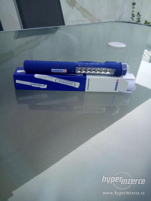 LED kapesní svítilna LED, Pen Light 7+1 Micro USB - foto 2