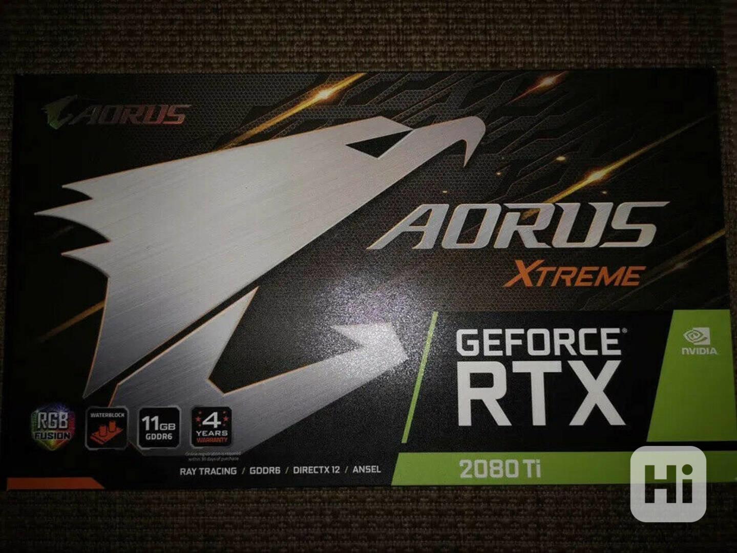 GIGABYTE AORUS NVIDIA GeForce RTX 2080 TI 11 GB GDDR6 XTREME - foto 1