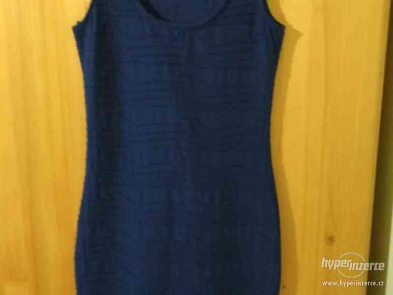 Dívčí letní elastické šaty