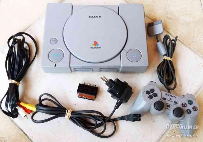 Playstation 1 FAT kompletní (1)