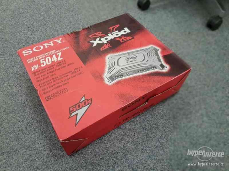 Prodám zesilovač SONY xplod, 4ch , XM-504Z