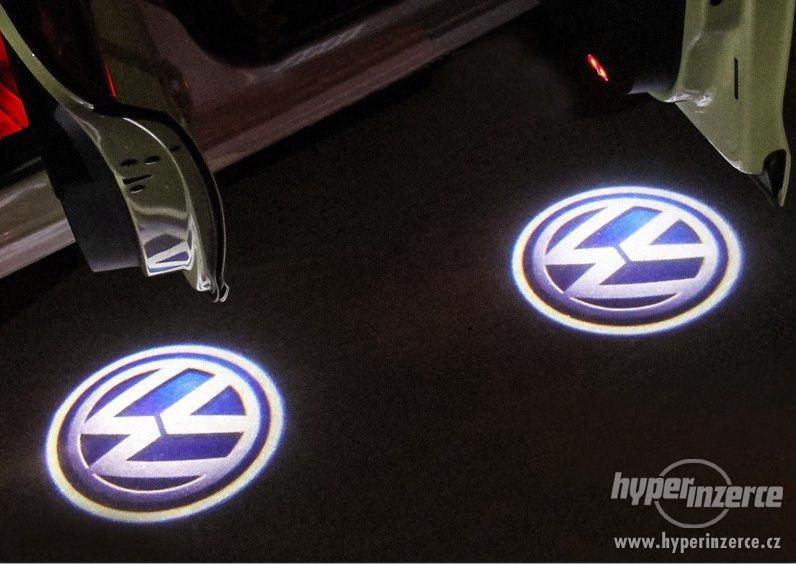 3D Led logo projektor VW, Osvětlení dveří
