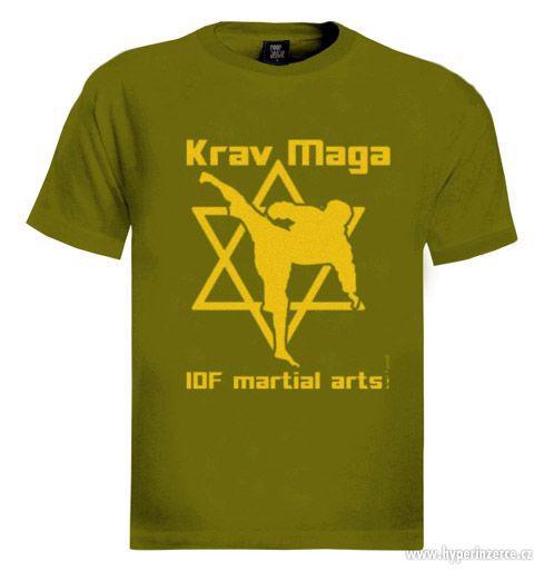 Tričko '' Krav Maga IDF martial arts '' orig.Izrael