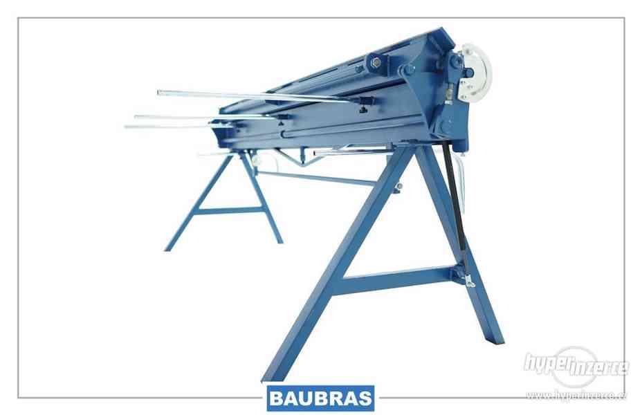 Ohýbačka plechu ruční 2,6m  Baubras - foto 3