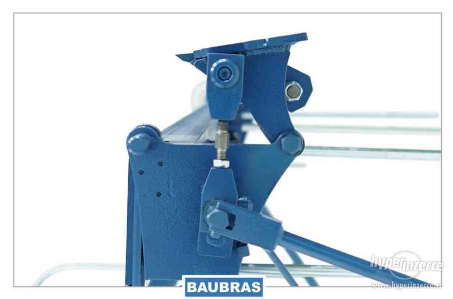 Ohýbačka plechu ruční 2,6m  Baubras - foto 4