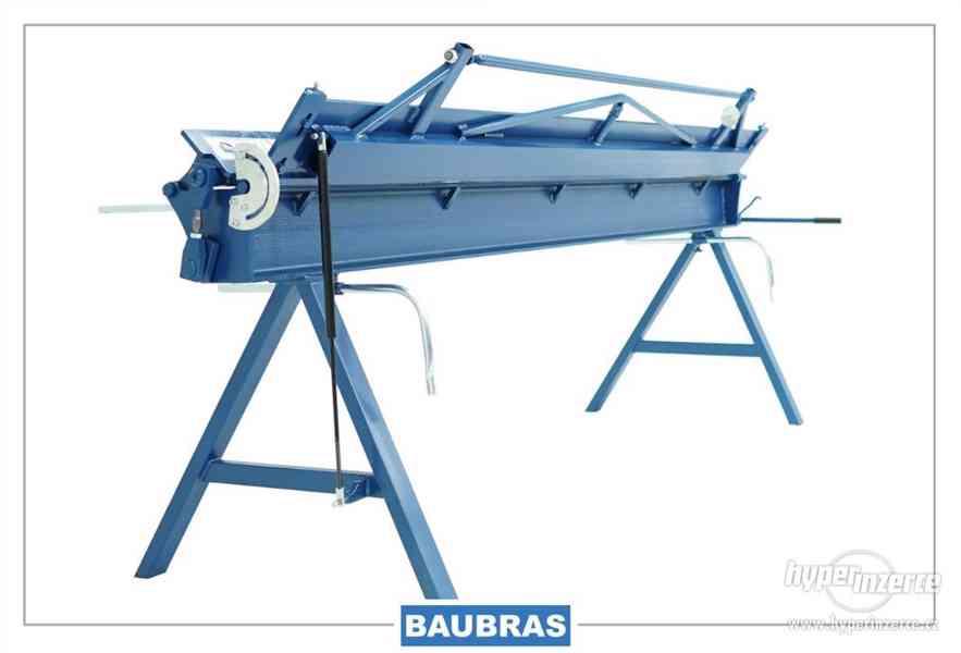 Ohýbačka plechu ruční 2,6m  Baubras - foto 5
