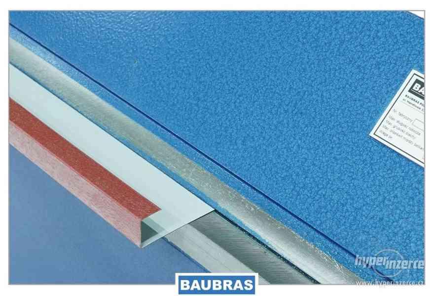 Ohýbačka plechu ruční 2,6m  Baubras - foto 9