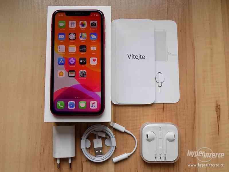 APPLE iPhone 11 64GB Red - ZÁRUKA - TOP STAV !!
