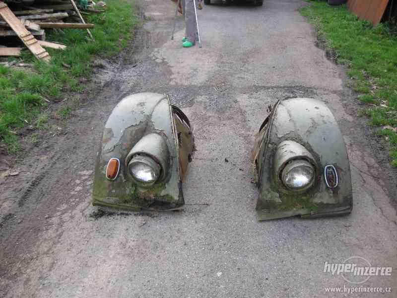 Blatníky na GAZ 77
