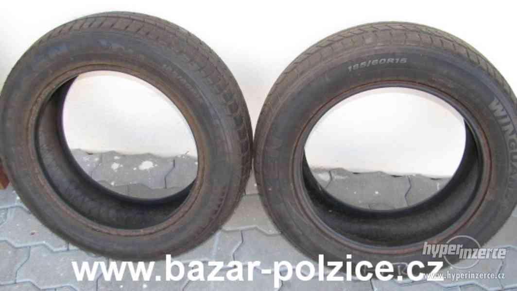 2 zimní pneumatiky Nexen