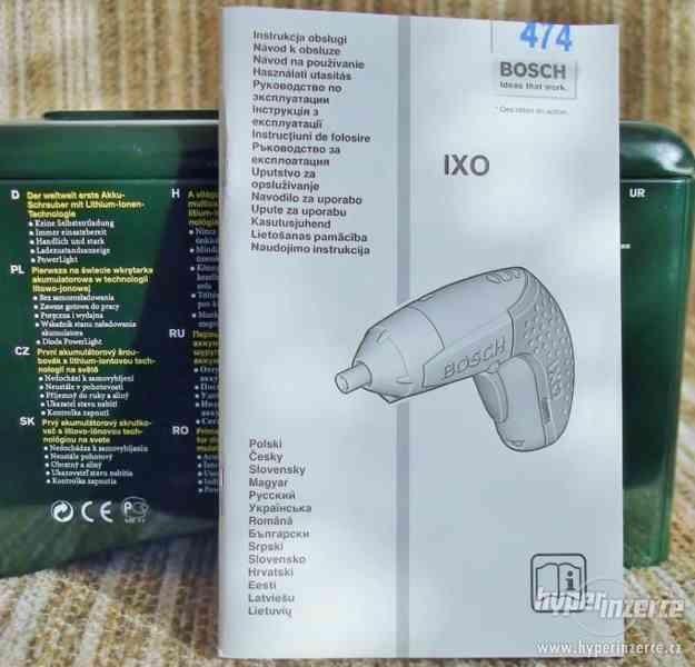 IXO 3,6V - Akušroubovák  2.generace s Li-ion baterií - foto 3