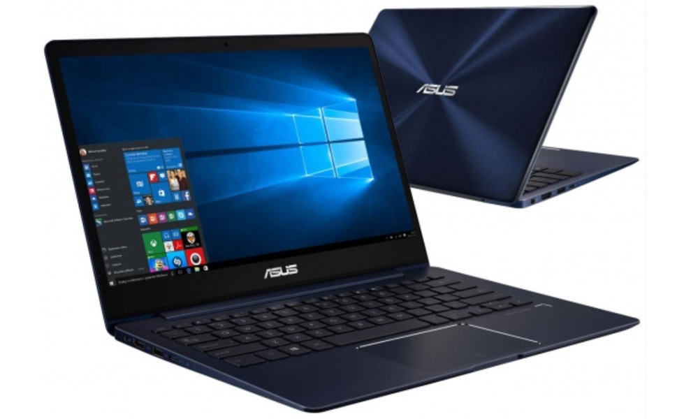 Výkonný ultralehký notebook Asus