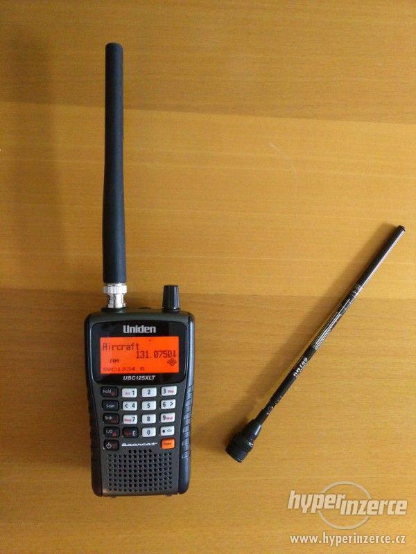 Ruční scanner Uniden 125XLT + let. anténa