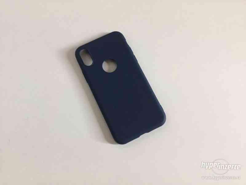 Tmavě modrý kryt pro iPhone X/Xs