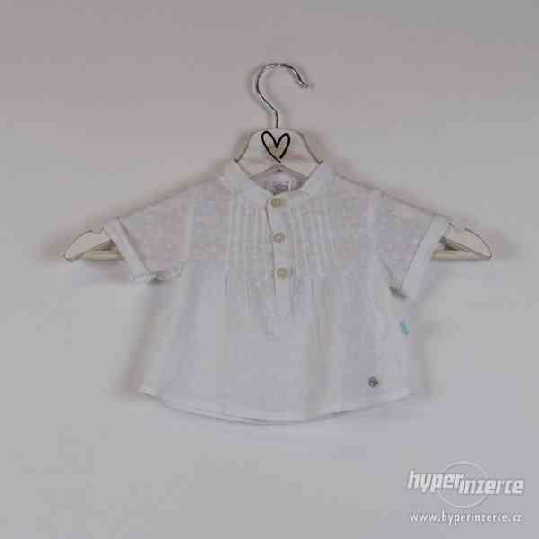 Cotton&sugar - Novorozenecká košilka Vel:0-3 měsíce - foto 1