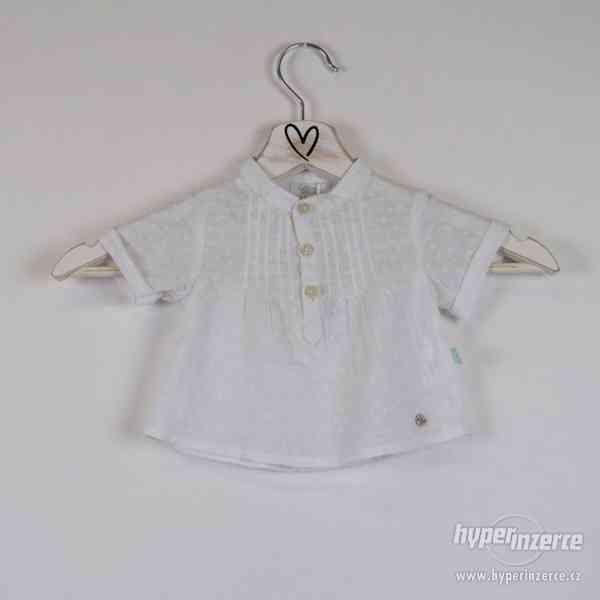 Cotton&sugar - Novorozenecká košilka Vel:0-3 měsíce - foto 2