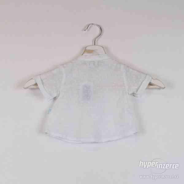 Cotton&sugar - Novorozenecká košilka Vel:0-3 měsíce - foto 3