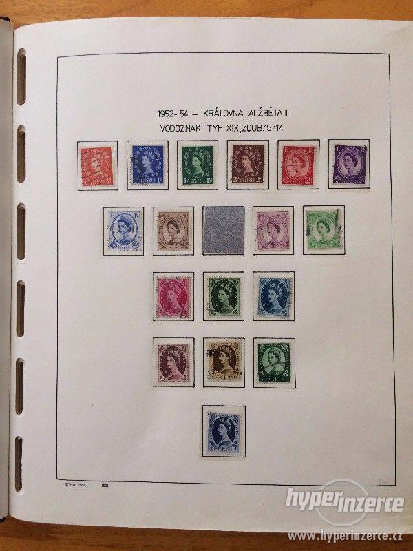 Poštovní známky - Anglie (1952-1980) - foto 1