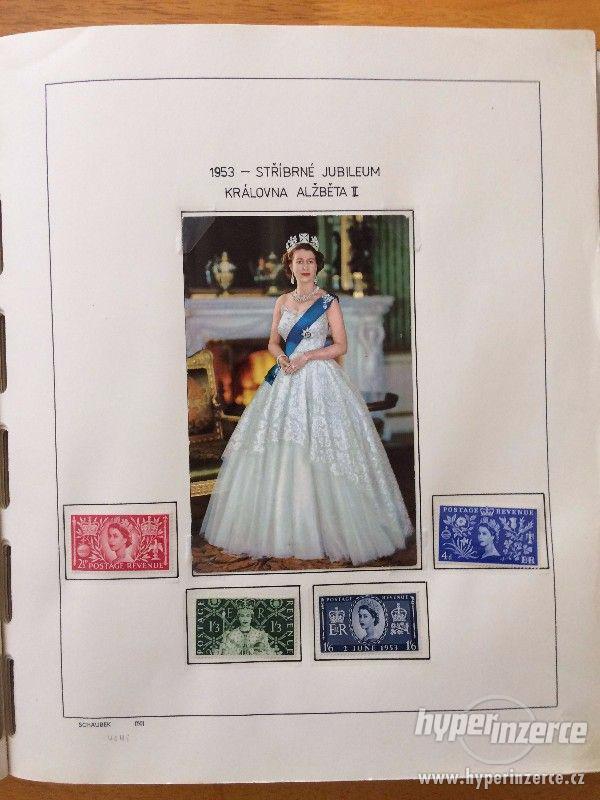 Poštovní známky - Anglie (1952-1980) - foto 2