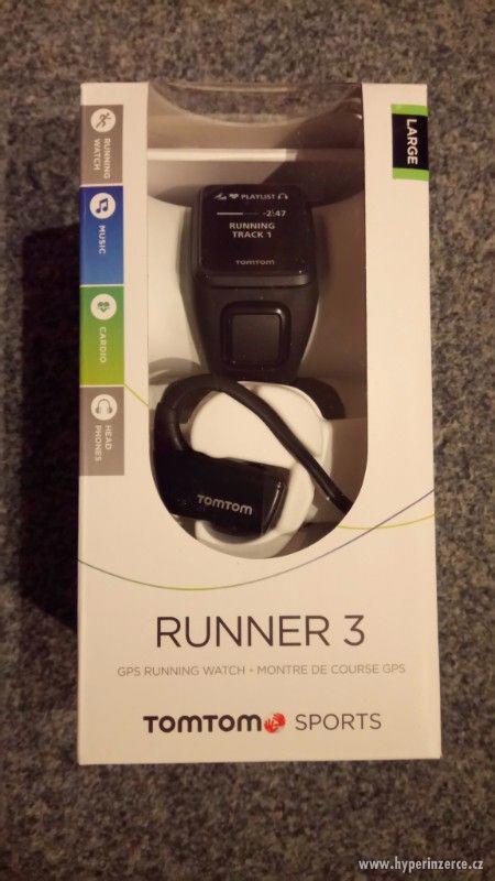 TomTom Runner 3 Cardio + Music + Headphones GPS running Watc