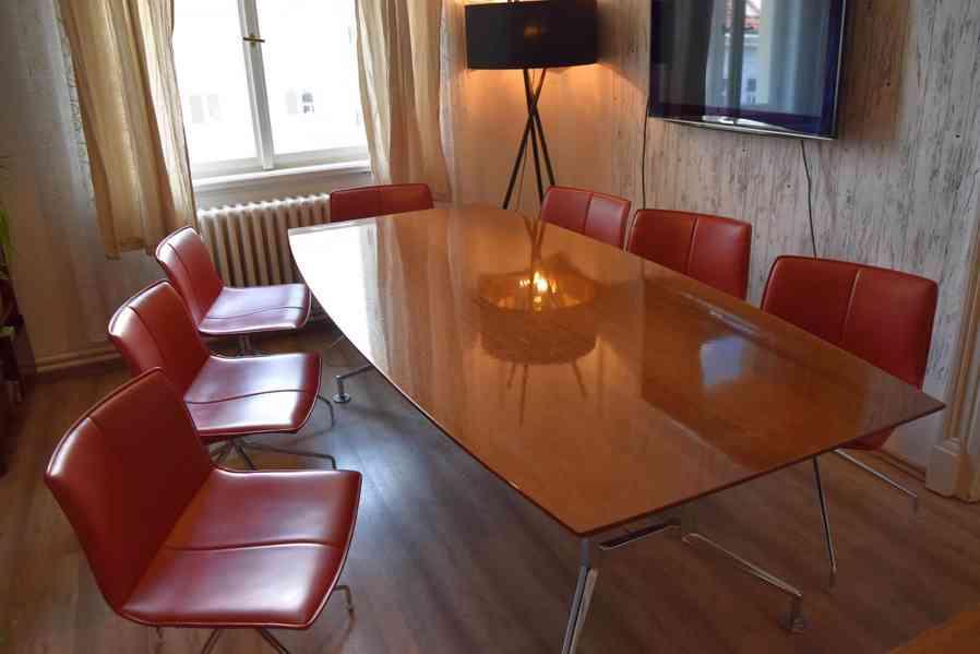 Designový kancelářský stůl 110x240cm,americký černý ořech