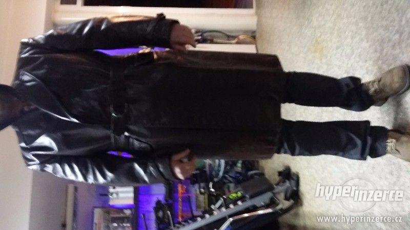 Pánský kožený stb kabát