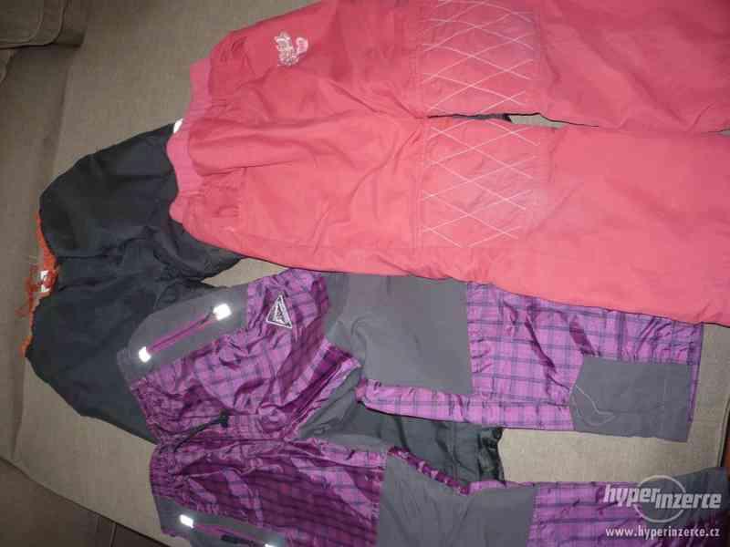 Nabízím k prodeji zateplené kalhoty vel. 110 -128