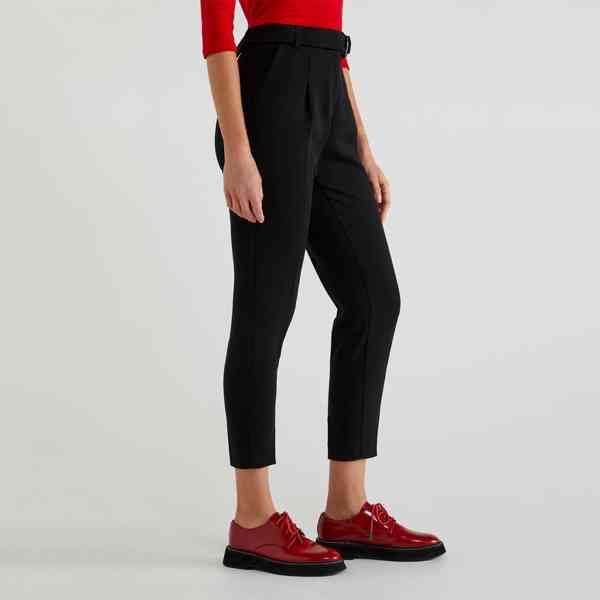 United Colors Of Beneton - Dámské kotníkové kalhoty Velikost