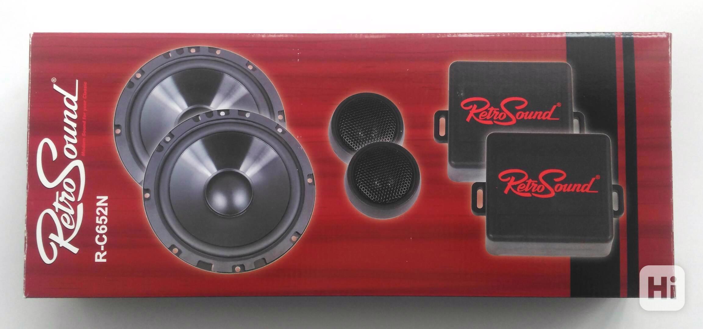 Komponentní reproduktory RetroSound 16,5cm - foto 1