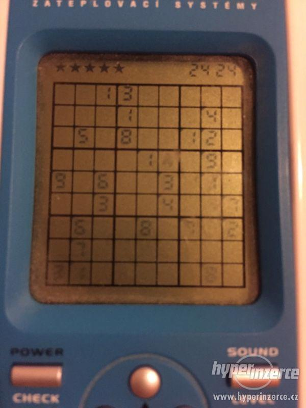 Elektronické sudoku - foto 3