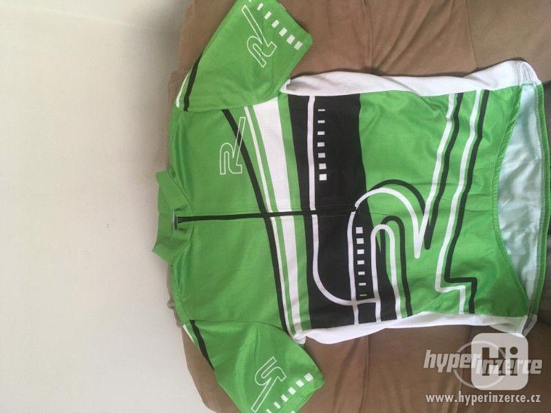 Prodám cyklistický dres Shamp vel. M. - foto 1