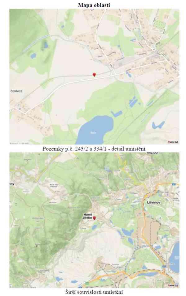 Pronájem pozemků ve vlastnictví spol. ORLEN Unipetrol RPA - foto 4