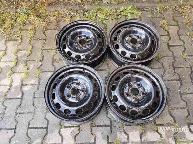 Plechové disky VW TRANSPORTER T4  6x15 5x112 ET 55