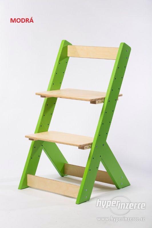 Rostoucí židle OMEGA I - různá barevná kombinace - foto 1