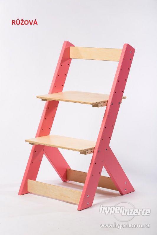 Rostoucí židle OMEGA I - různá barevná kombinace - foto 2