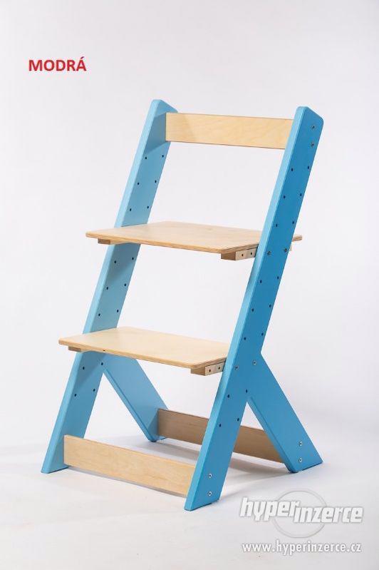 Rostoucí židle OMEGA I - různá barevná kombinace - foto 3