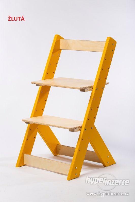 Rostoucí židle OMEGA I - různá barevná kombinace - foto 4